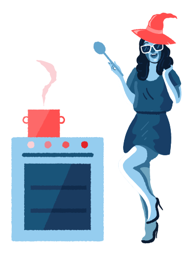 style Magic cooking images in PNG and SVG | Icons8 Illustrations