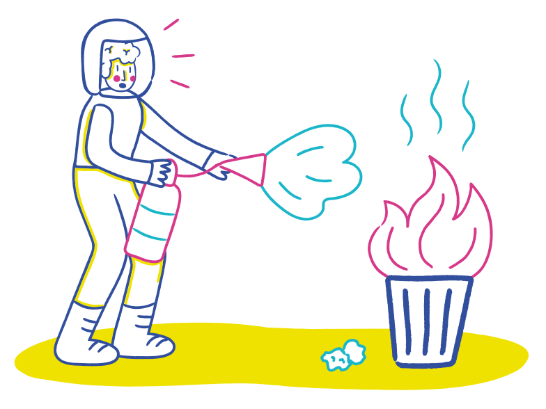 style Firefighter Vector images in PNG and SVG | Icons8 Illustrations