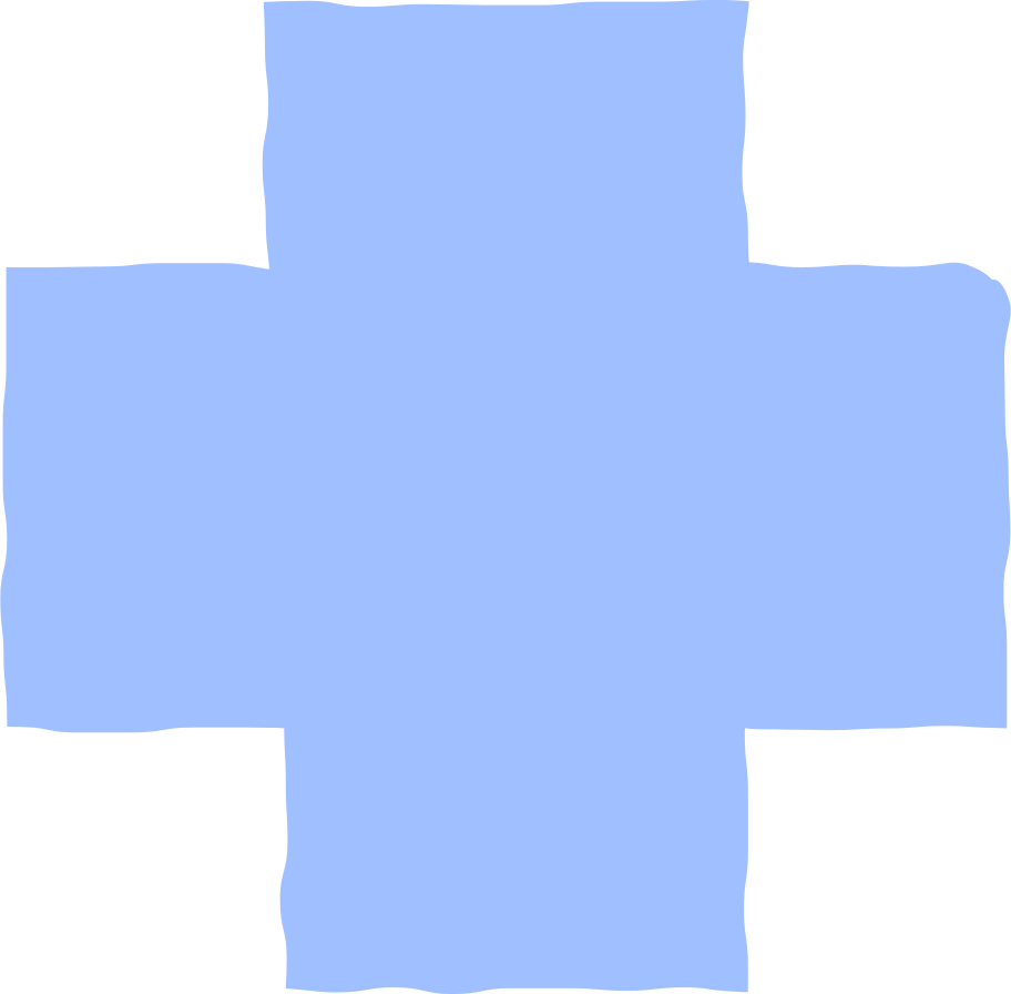 cross light blue Clipart illustration in PNG, SVG