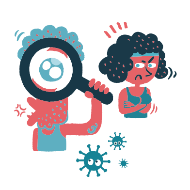 style Coronavirus searching images in PNG and SVG | Icons8 Illustrations