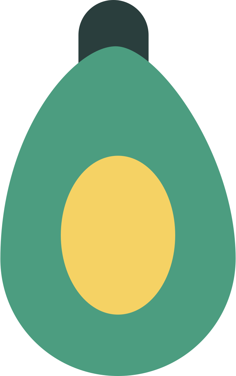 avocado Clipart illustration in PNG, SVG
