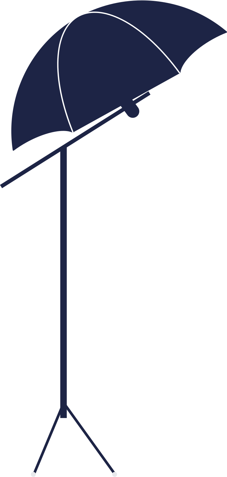 photostudio umbrella Clipart illustration in PNG, SVG
