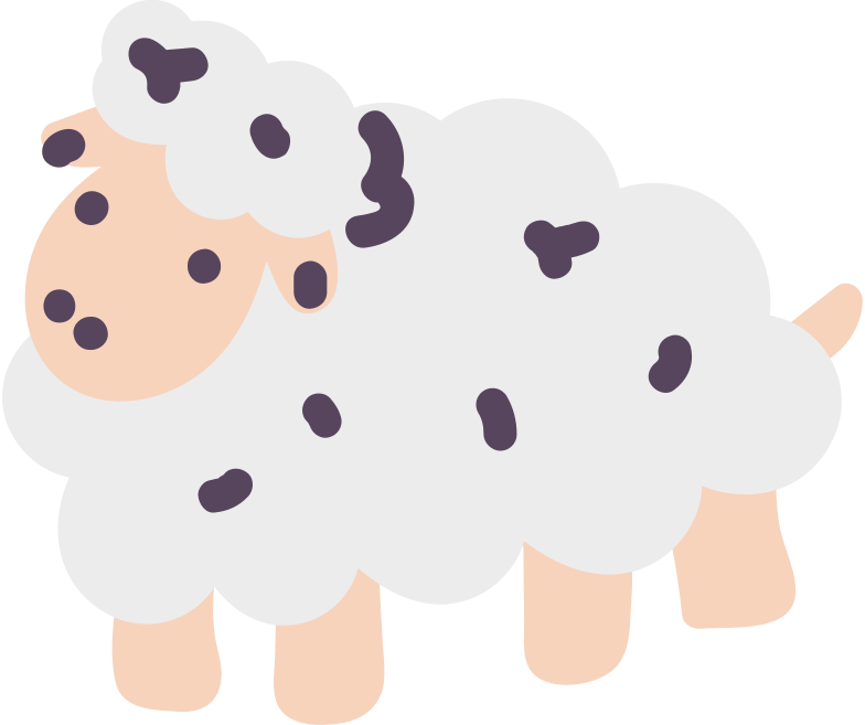 sheep Clipart illustration in PNG, SVG