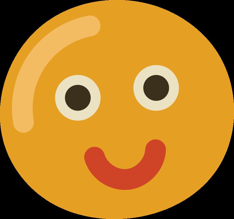 smiley face Clipart illustration in PNG, SVG