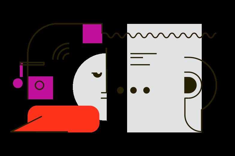 Иллюстрация Коммуникация в стиле  в PNG и SVG | Icons8 Иллюстрации