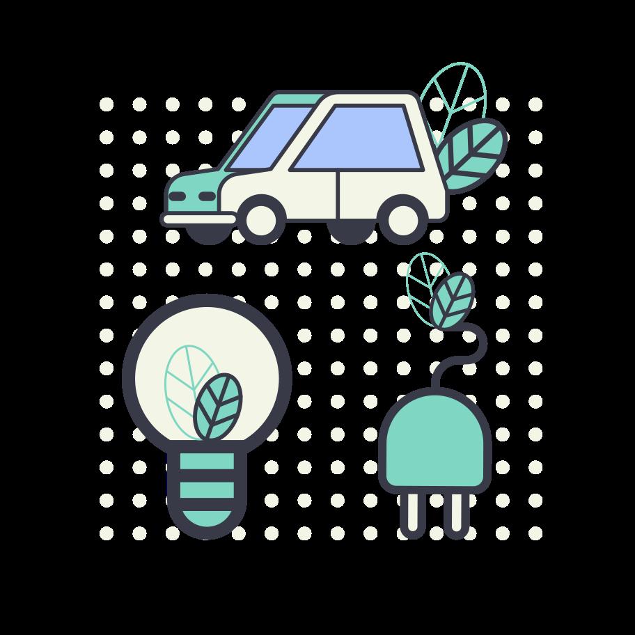 Ecology concept Clipart illustration in PNG, SVG