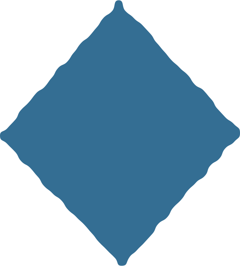 rhombus blue Clipart illustration in PNG, SVG