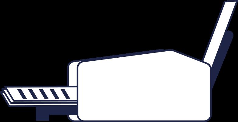 printer Clipart illustration in PNG, SVG
