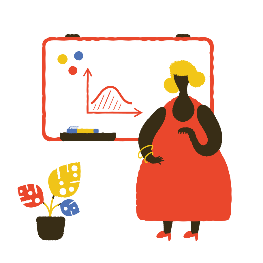 style School teacher near the blackboard Vector images in PNG and SVG | Icons8 Illustrations