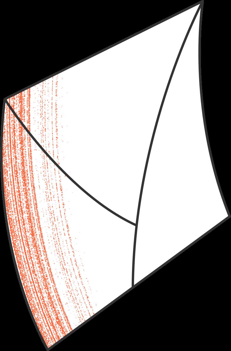 unsubscribe  postal envelope Clipart illustration in PNG, SVG
