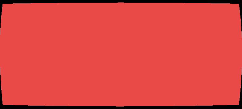 restangle red Clipart illustration in PNG, SVG