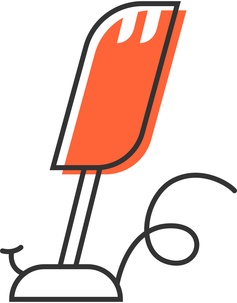 microphone Clipart illustration in PNG, SVG