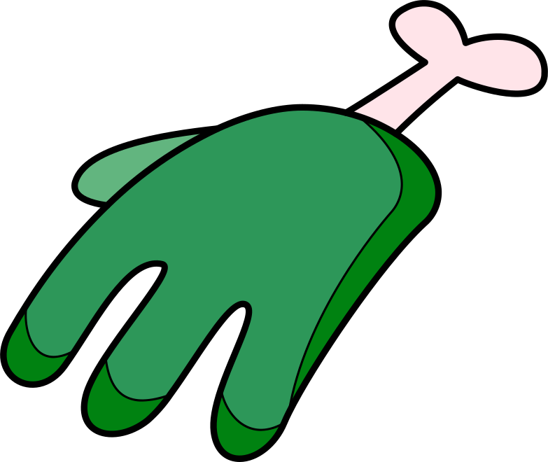 zombie hand Clipart illustration in PNG, SVG