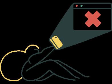 Иллюстрация страница не найдена в стиле  в PNG и SVG | Icons8 Иллюстрации
