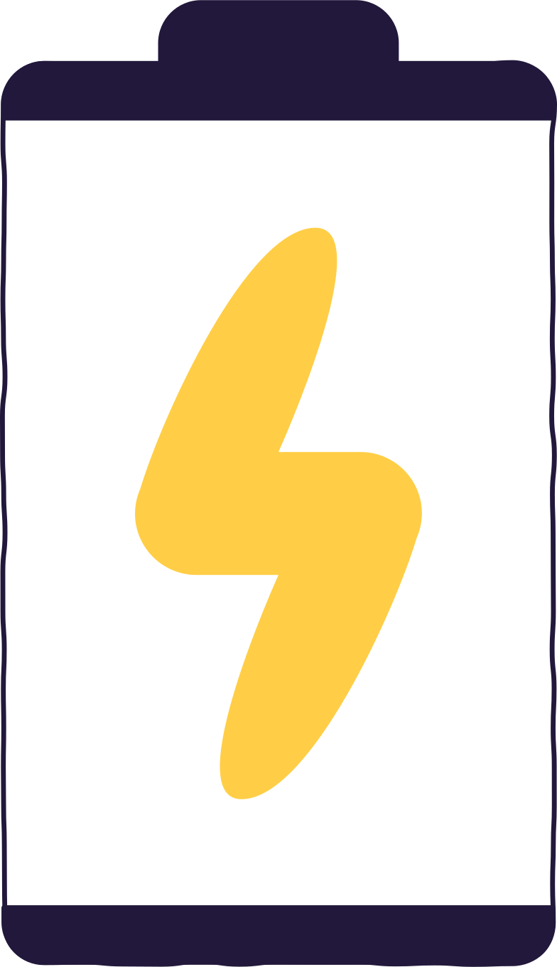battery is charging Clipart illustration in PNG, SVG