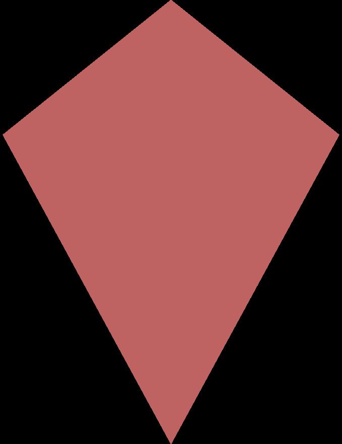 kite burgundy Clipart illustration in PNG, SVG