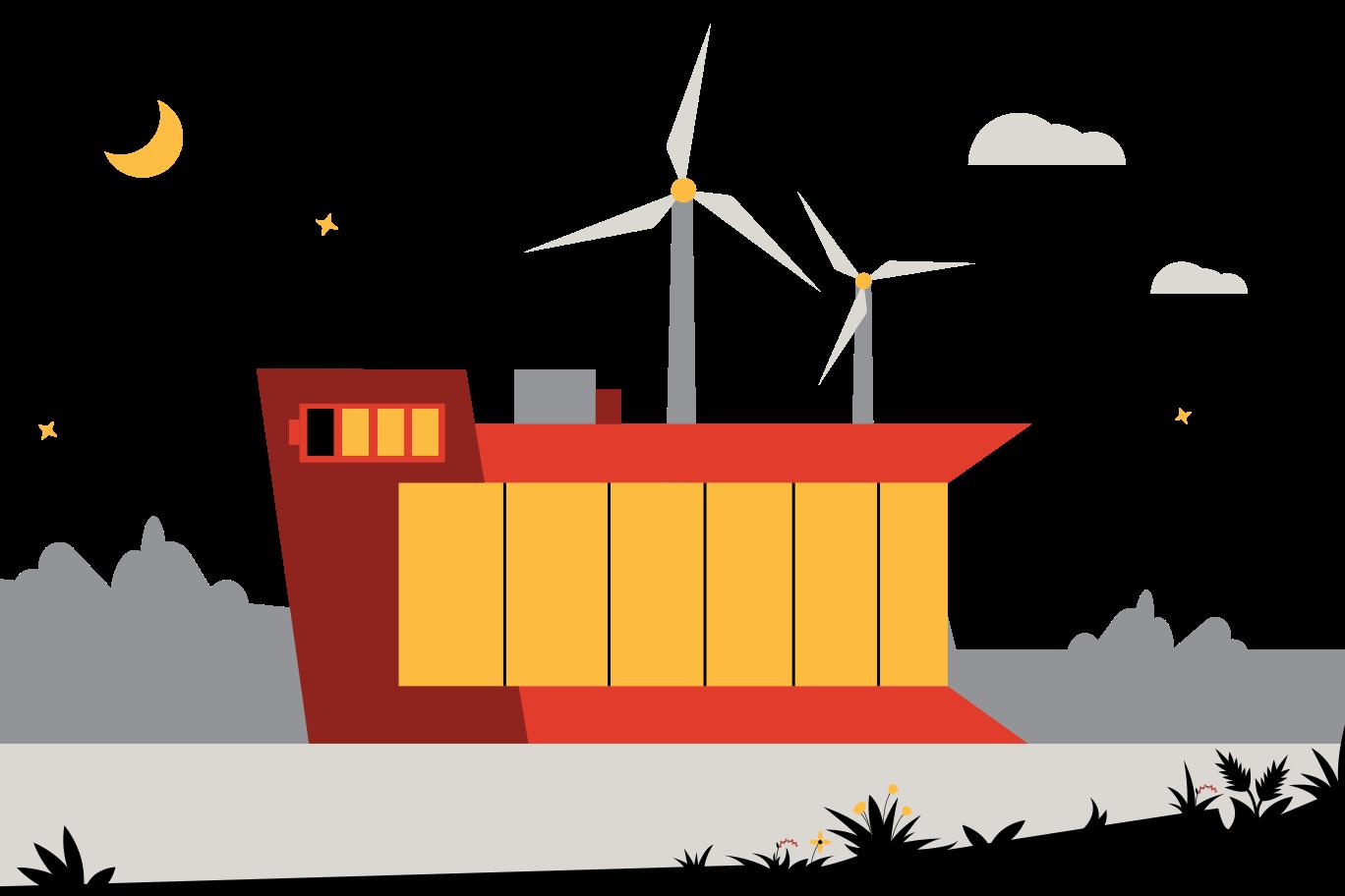 Öko-haus Clipart-Grafik als PNG, SVG