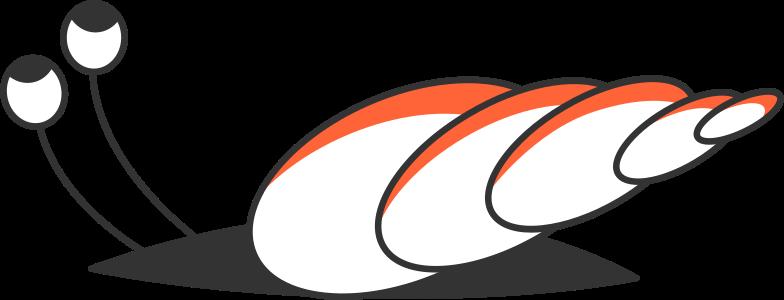 snail Clipart illustration in PNG, SVG