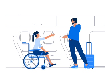 style Meeting On The Plane images in PNG and SVG | Icons8 Illustrations