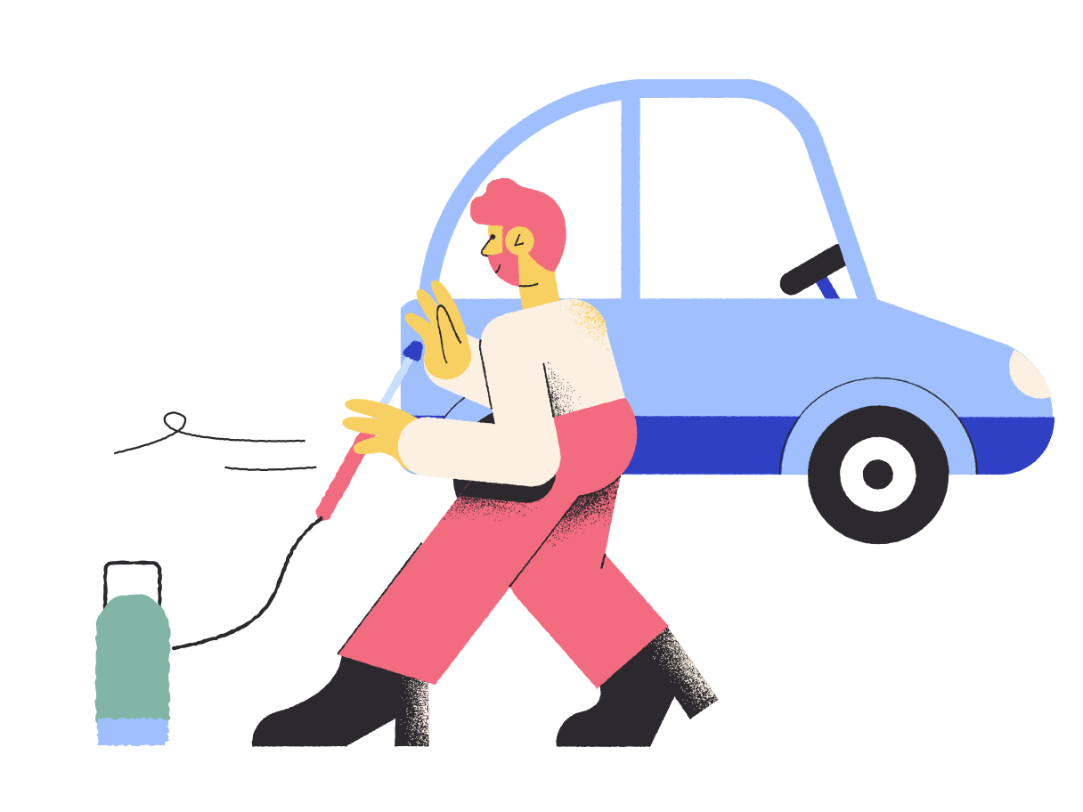 Gas station Clipart illustration in PNG, SVG