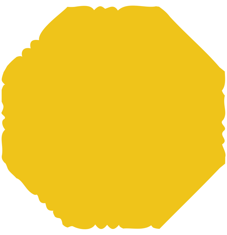 octagon yellow Clipart illustration in PNG, SVG