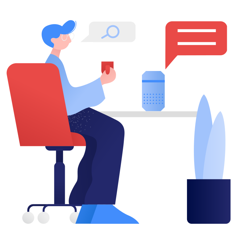 style Smart speaker- voice search Vector images in PNG and SVG | Icons8 Illustrations