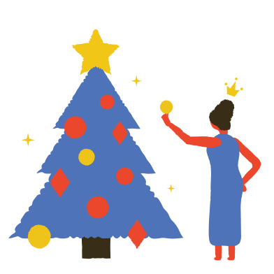 style Decorate the Christmas tree images in PNG and SVG | Icons8 Illustrations