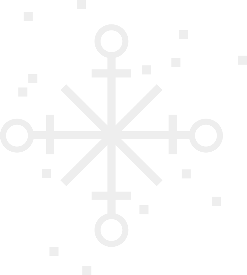 snowflake Clipart illustration in PNG, SVG