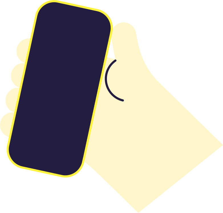 style phone in hand Vector images in PNG and SVG | Icons8 Illustrations