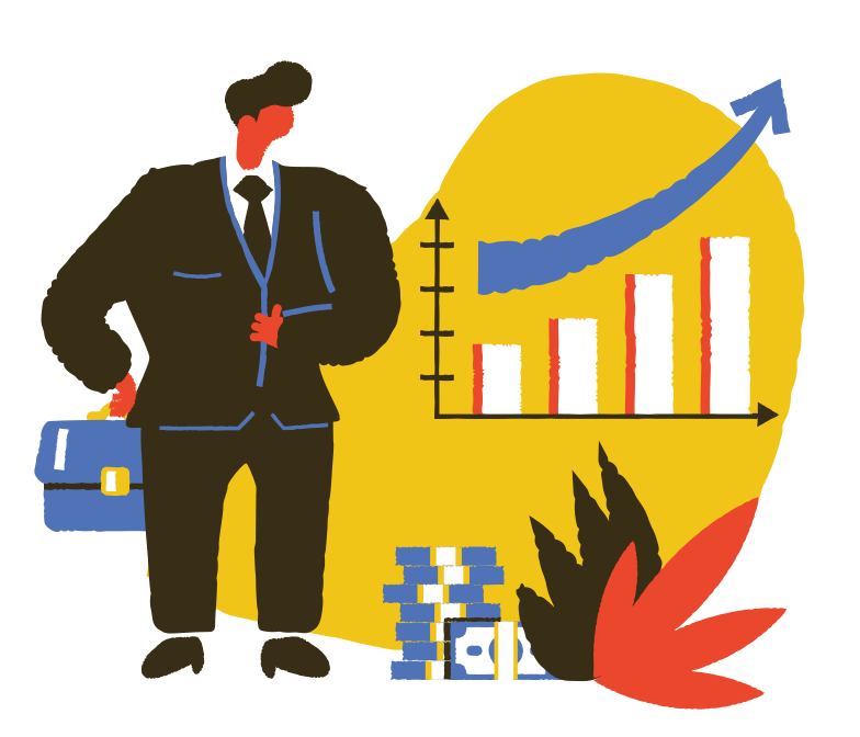 style Profitable growth Vector images in PNG and SVG | Icons8 Illustrations
