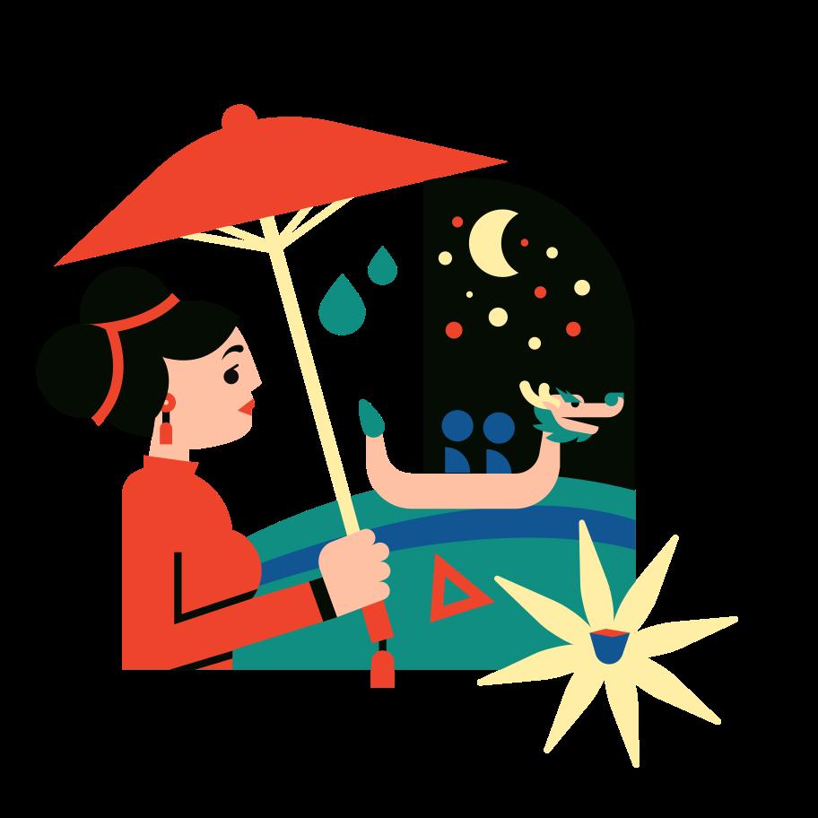 Stroll Clipart illustration in PNG, SVG