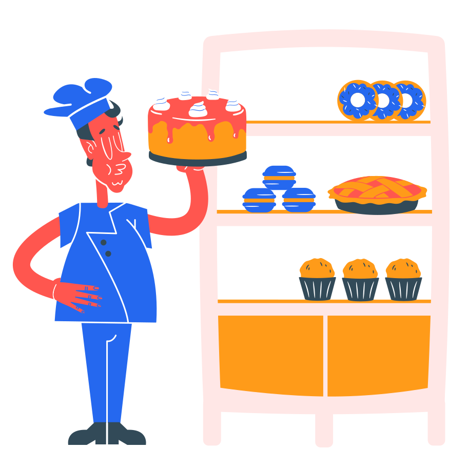 Bakery Clipart illustration in PNG, SVG