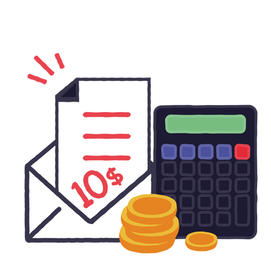 style Paying bills images in PNG and SVG | Icons8 Illustrations