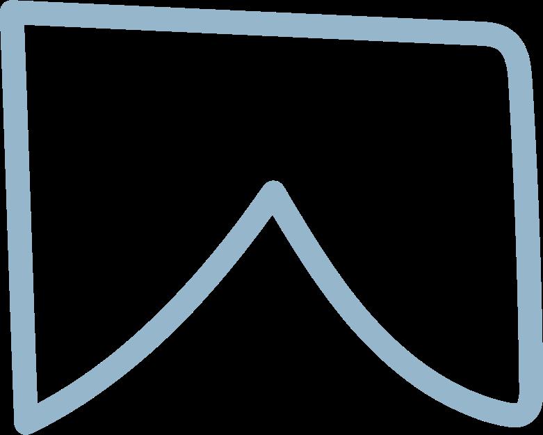 tk blue flag Clipart illustration in PNG, SVG