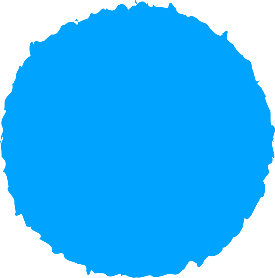 circle sky blue Clipart illustration in PNG, SVG