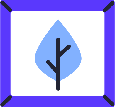 style painting with a leaf images in PNG and SVG   Icons8 Illustrations