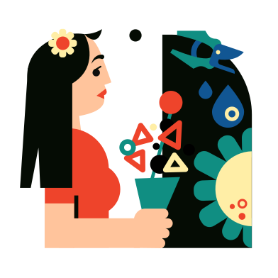 style Floristics images in PNG and SVG | Icons8 Illustrations