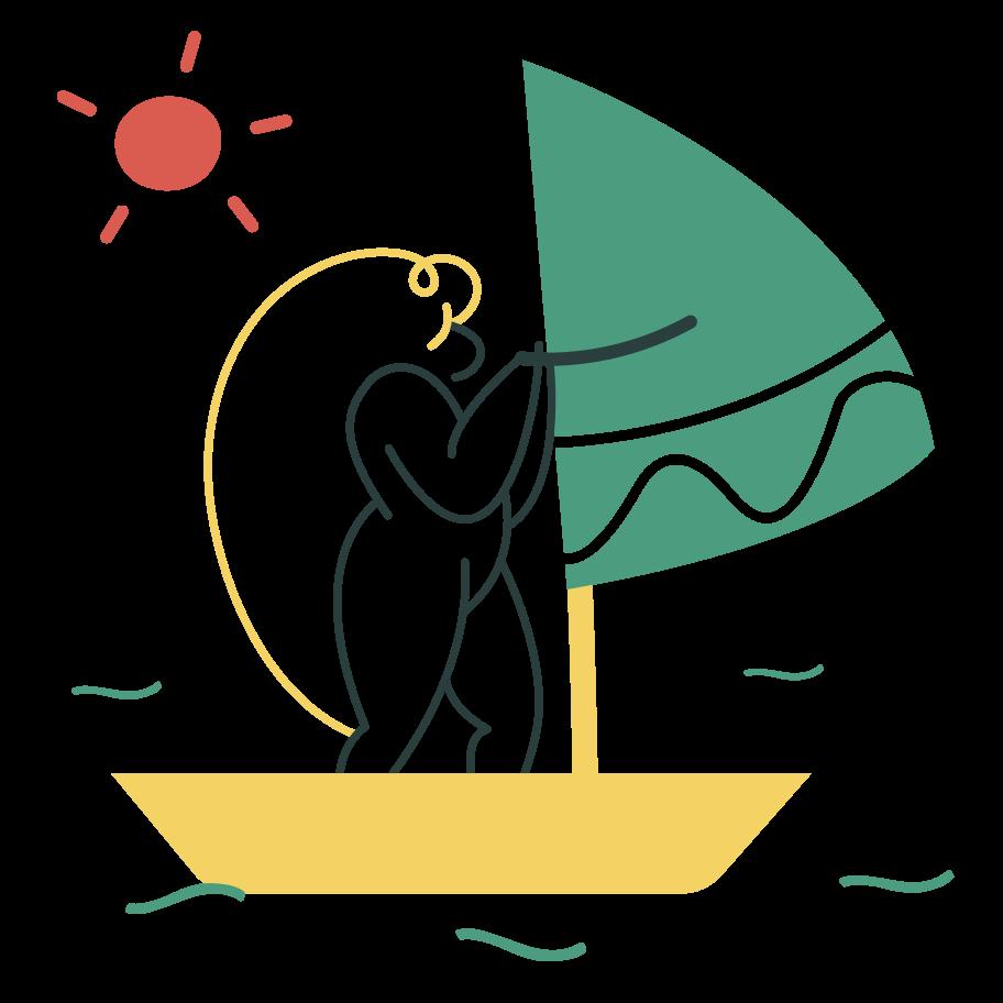 Sailing Clipart illustration in PNG, SVG