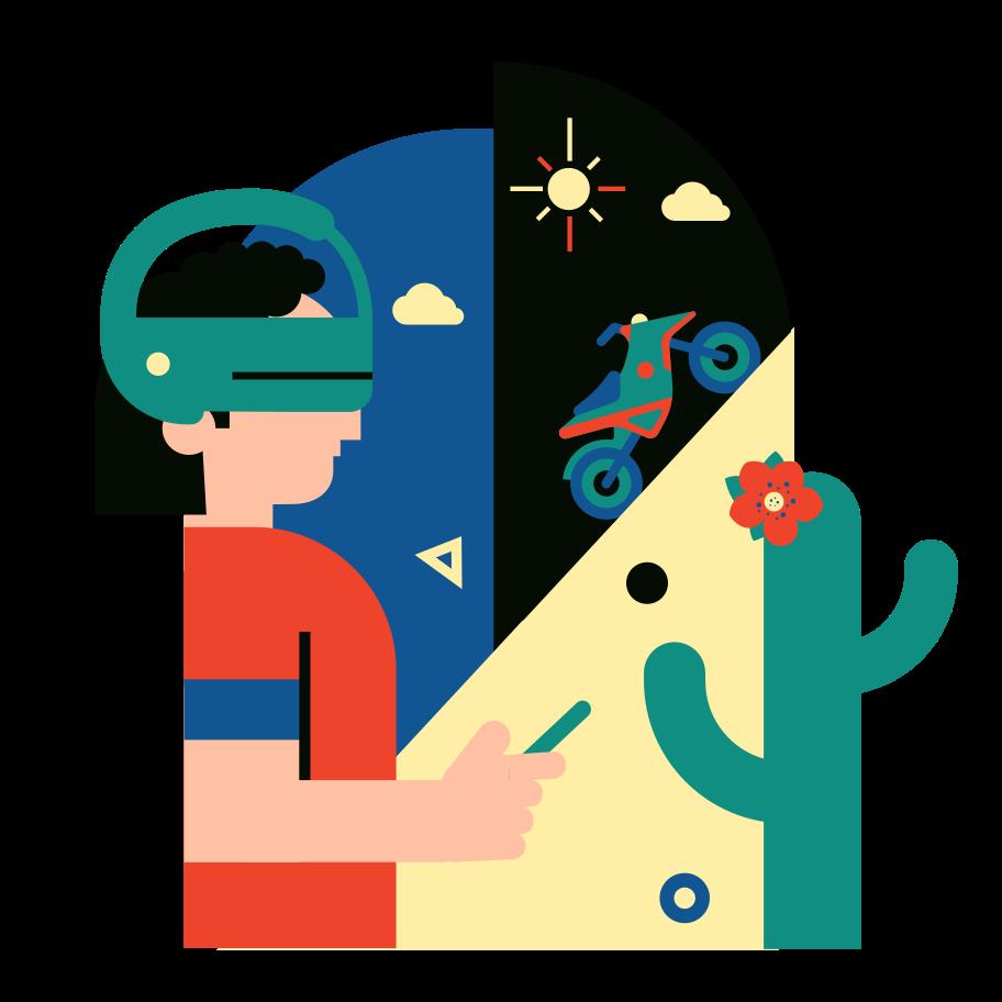 Virtuelle realität Clipart-Grafik als PNG, SVG