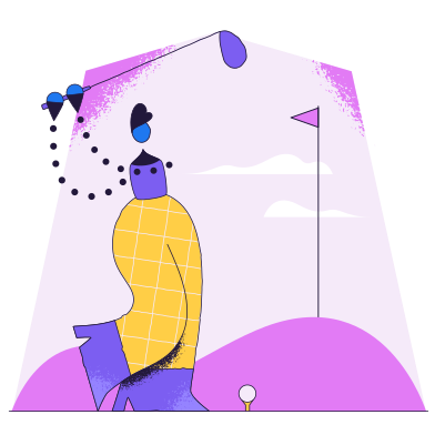 style Golf images in PNG and SVG | Icons8 Illustrations