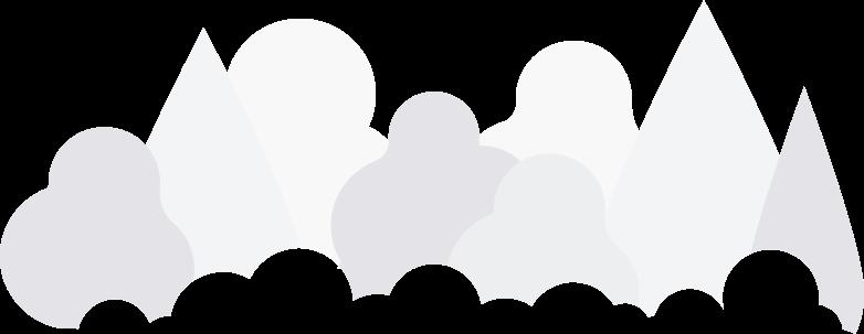 teamwork  forest background Clipart illustration in PNG, SVG