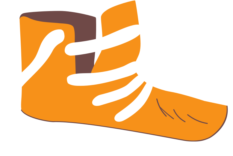 sneakers Clipart illustration in PNG, SVG