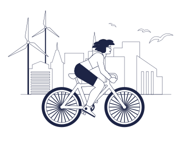 style Ecological Life In The City images in PNG and SVG | Icons8 Illustrations