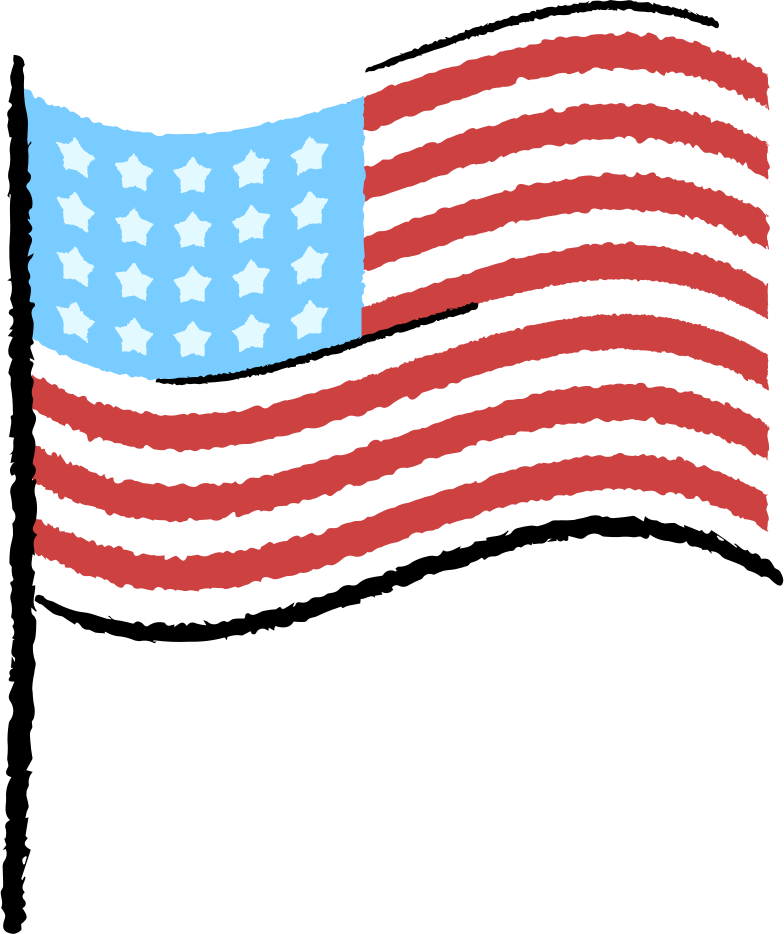 style american flag Vector images in PNG and SVG | Icons8 Illustrations