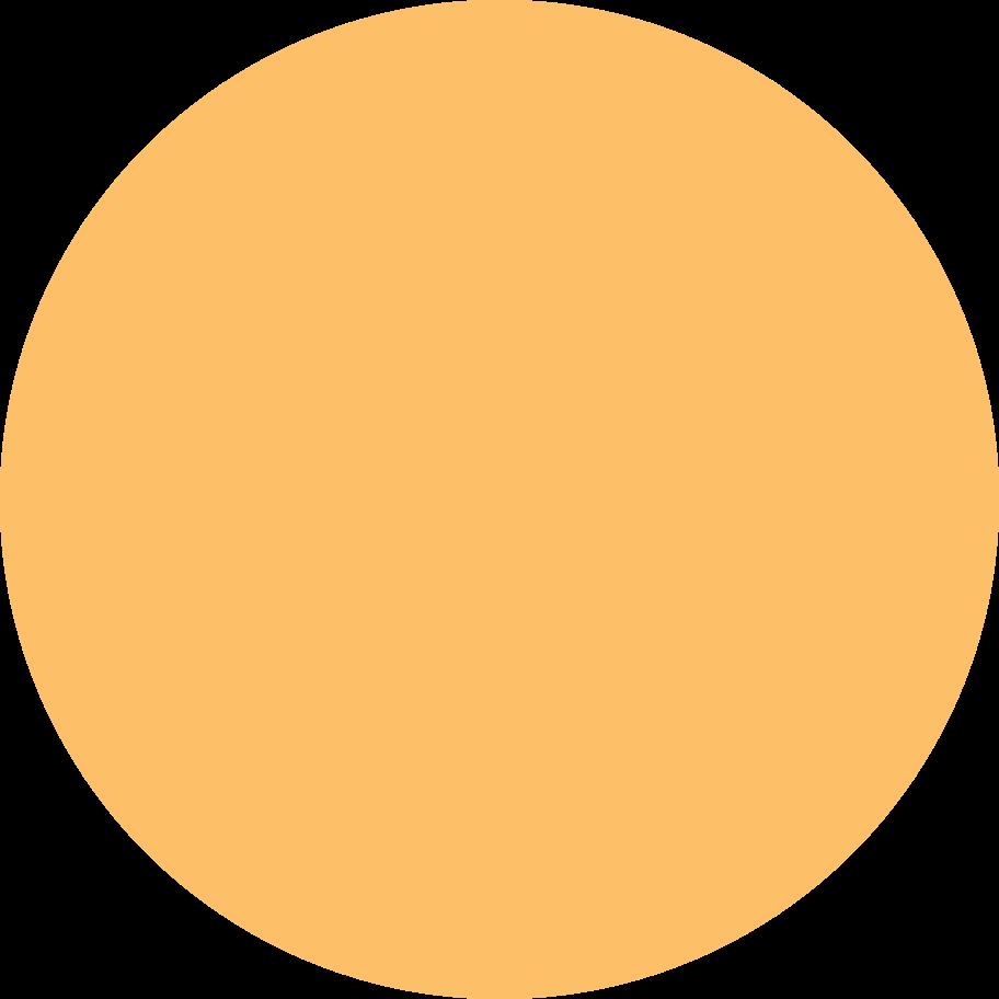 circle orange Clipart illustration in PNG, SVG