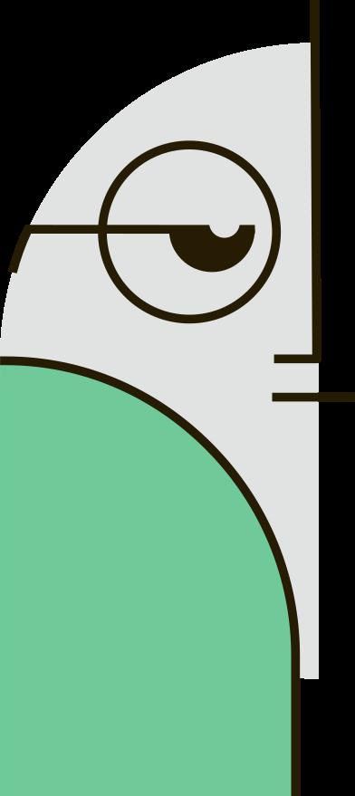 Imágenes de person in glasses estilo  en PNG y SVG | Ilustraciones Icons8
