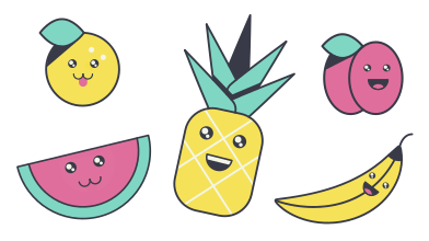 style Fruits images in PNG and SVG | Icons8 Illustrations