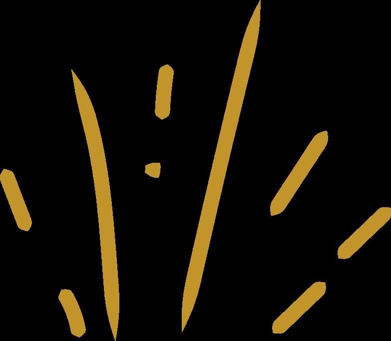 gold splash Clipart illustration in PNG, SVG