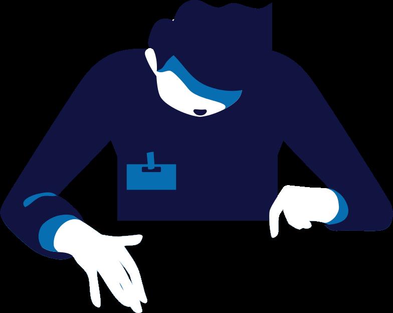j scientist Clipart illustration in PNG, SVG