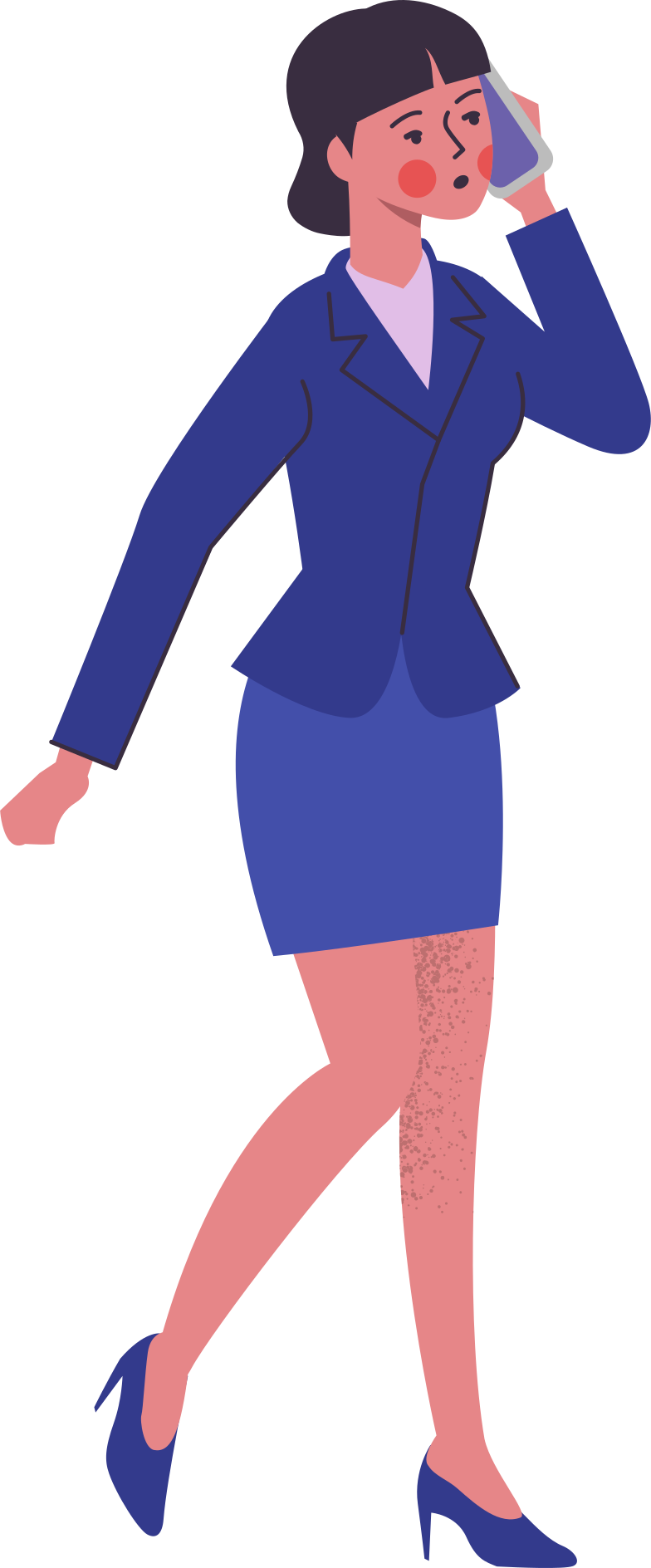 woman-in-suit Clipart illustration in PNG, SVG